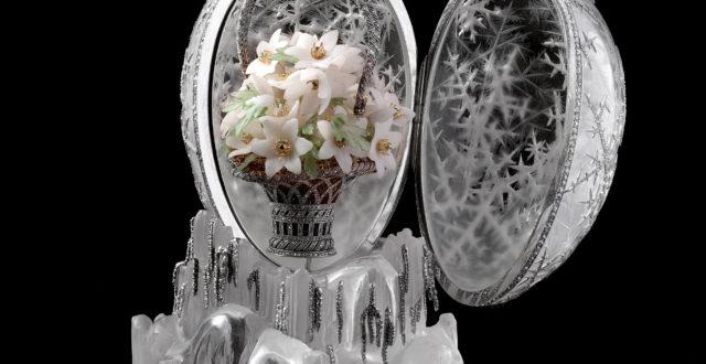 Fabergen korusuunnittelijana tunnetun Alma Pihlin suunnittelema Talvimuna