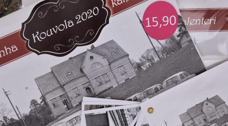Kuva Poikilo-museon Wanha Kouvola -seinäkalenterista