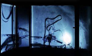 Risto Puurusen teos Yksityiskohta Shadows in the Air X III
