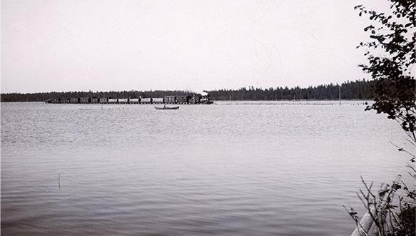 Valapaton suurtulva aiheutti valtavia tuhoja Kymenlaaksossa vuonna 1899.