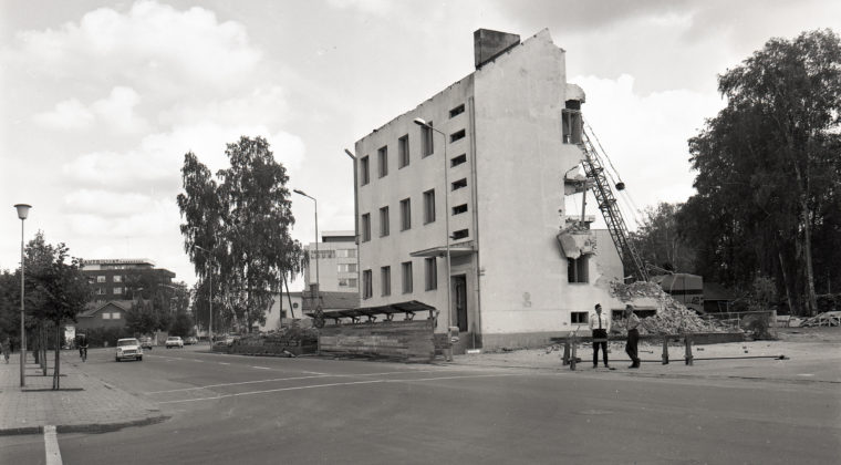 Kouvolan vanhan poliisiaseman purkaminen heinäkuussa 1970