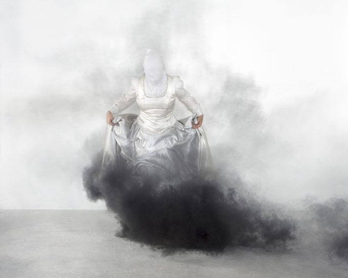Mari Hokkanen, Untitled, White Room of Colors, 2018.