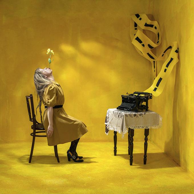 Mari Hokkanen, Untitled, Yellow Room of Colors, 2018.