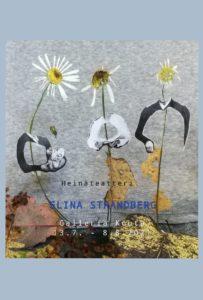 Elina Strandbergin näyttelyn juliste.